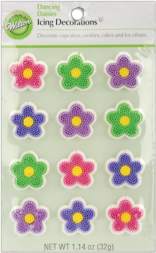 Wilton Icing Decorations, Dancing Daisies,