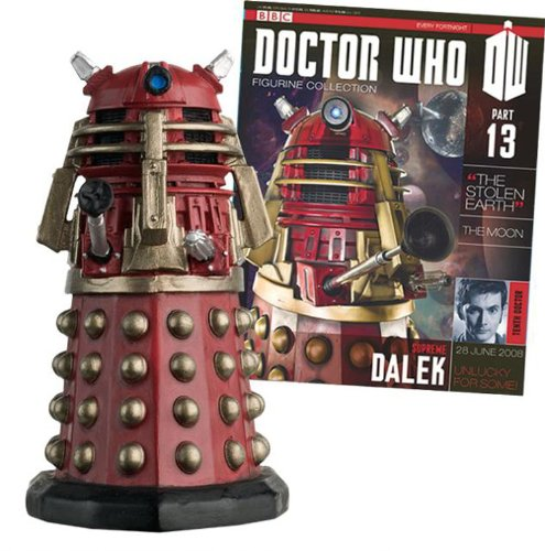 #13 Dalek Doctor Who Figurine With Collector Magazine-Eaglemoss