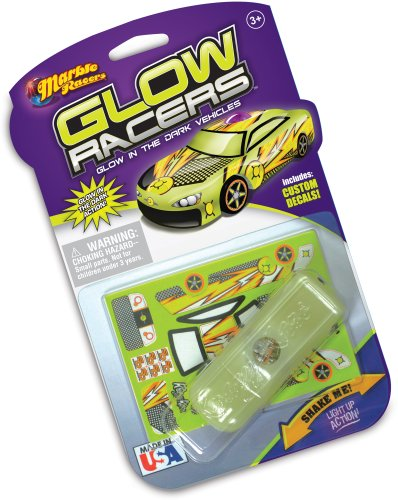 Skullduggery Krazy Kars Glow Racers Light Up Glow In The Dark Cars