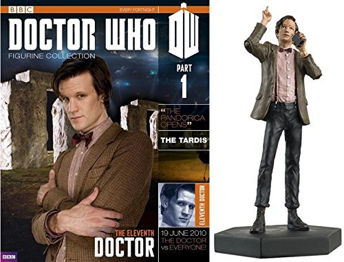 #1 Doctor Who 11Th Doctor/Matt Smith Eaglemoss Die Cast Figurine From Uk With Magazine