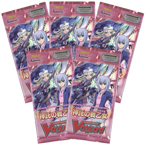 # Lot - Cardfight Vanguard Tcg English Celestial Valkyries Booster Packs Vge-Eb05