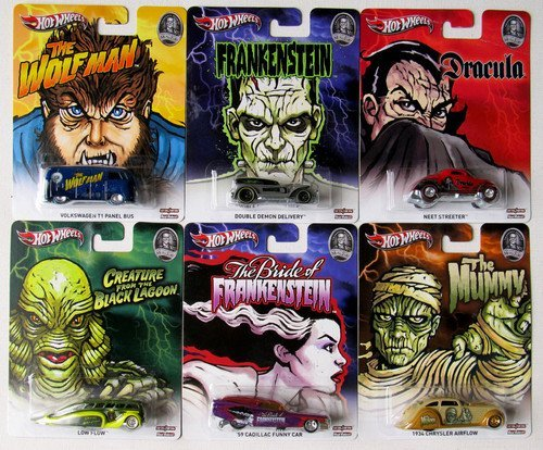 Hot Wheels Pop Culture Universal Horror