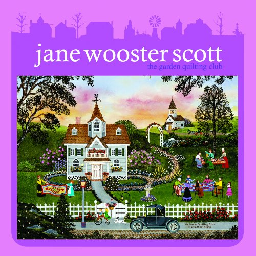 Ceaco Jane Wooster Scott Keepsake Tin - The Garden Quilting Club