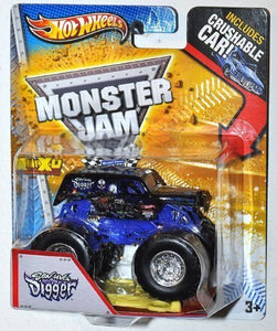 Monster Jam 1:64 Scale Son-Uva Digger W/ Crushable Car