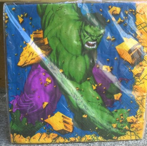 The Incredible Hulk Luncheon Napkins