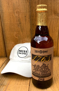 2018 Cider Riot 1763 West Country - 500 mL (6.9% ABV)
