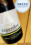 Alpenfire 3 Pommes - 750 mL (6.9 % ABV) APPLES PEARS QUINCE