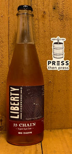 Liberty Ciderworks 55 Chain English Style 500 mL (5% ABV)