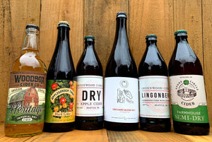 Free Shipping 6 Great Ciders - $85