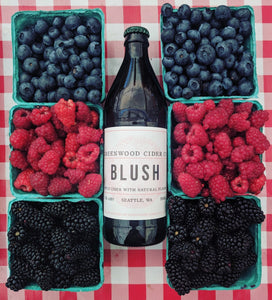 Greenwood Cider Blush 500 mL (7.3% ABV) BERRY FRUIT CRISP