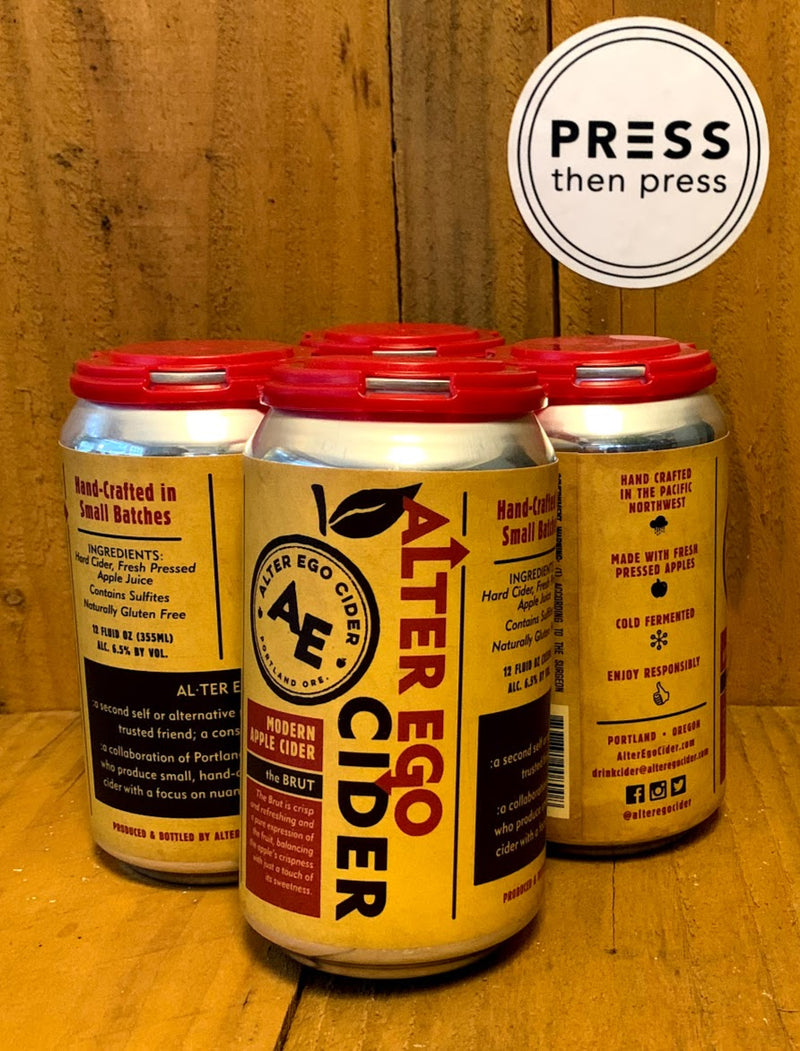 Alter Ego Brut 4 cans 355 mL (6.5% ABV)