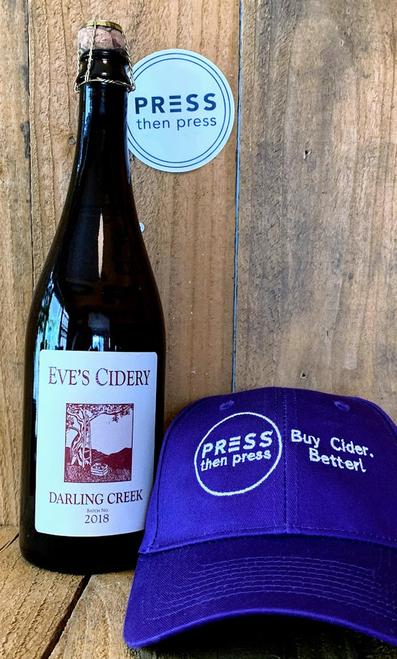Eve's Cidery 2018 Darling Creek 750 mL (6% ABV) SWEETLY BALANCED FUNK