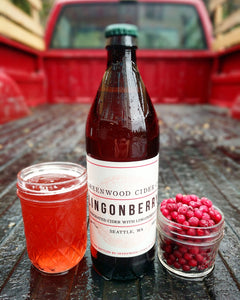 Greenwood Cider Lingonberry 500 mL (7.8% ABV) MAGIC SMOOTH SKAL