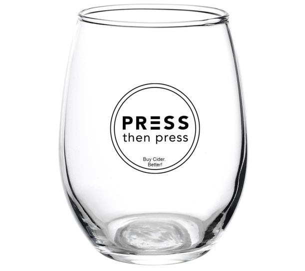 Press Then Press Glassware - 1 glass