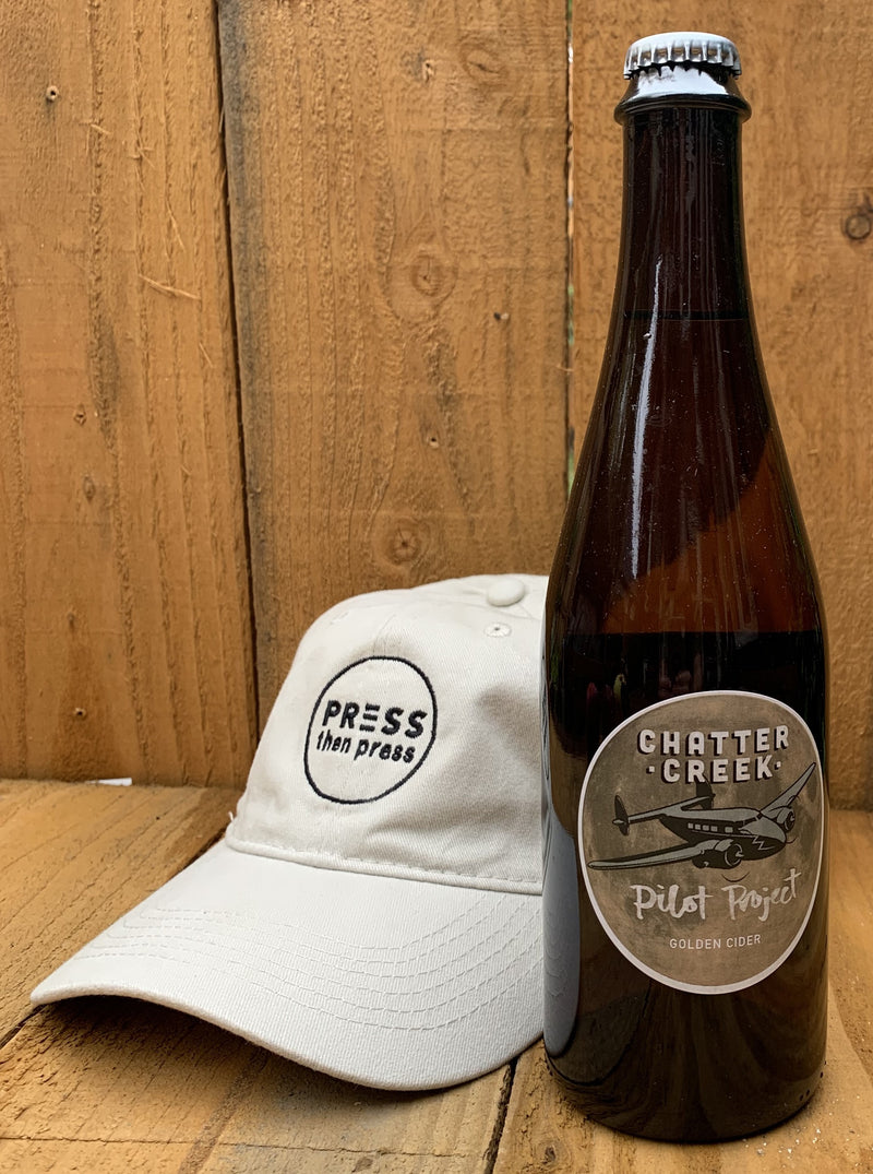 Chatter Creek Pilot Project  500 mL ( 6.9%ABV) GOLDEN BRIGHT DELIGHT