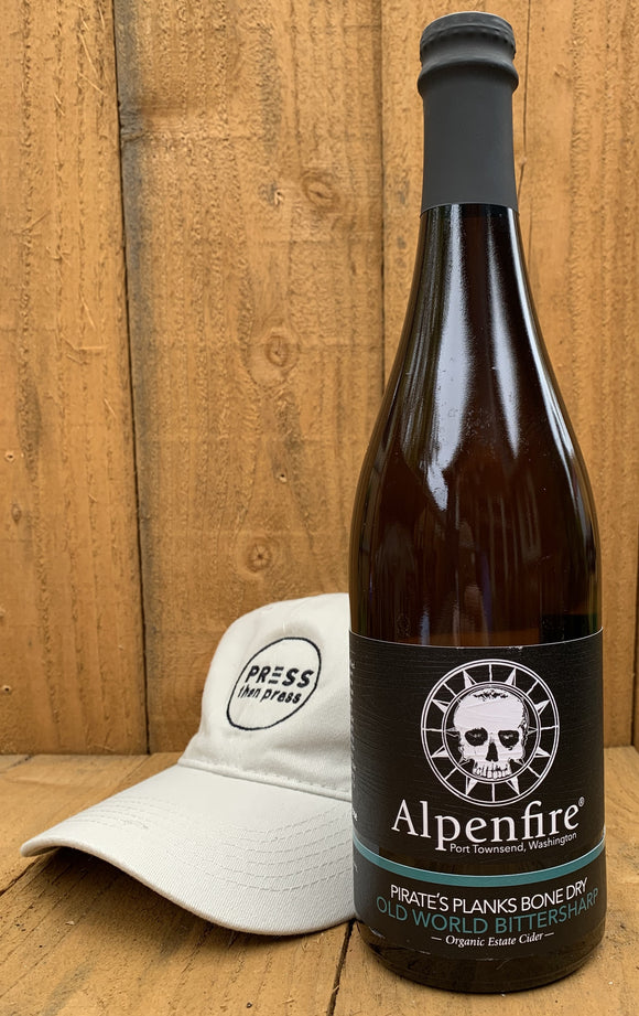 Alpenfire Pirate's Planks 750 mL  (6.9% ABV) ORGANIC & SULFITE FREE