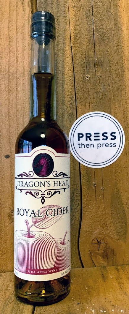 Dragon's Head Royal Cider 375 mL (16% ABV) COULD BE ROYAL