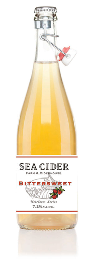 Sea Cider Bittersweet 750 mL (7.2% ABV) BANG THE DRUM