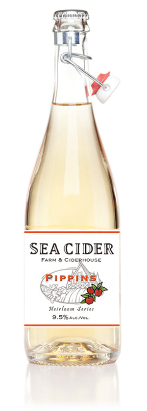 Sea Cider Pippins 750 mL (9.5% ABV) SHARP TROPICAL CHAP