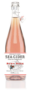 Sea Cider Ruby Rose 750 mL (9.9% ABV) MOAR PATIO TIME
