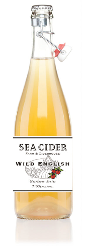 Sea Cider Wild English 750 mL (7.5% ABV)