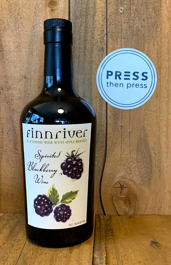 Finnriver Spirited Blackberry Wine 500 mL (18.5% ABV)