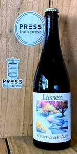 Lassen Traditional Winter Creek 750 mL (9% ABV) FULL BARREL CIDER