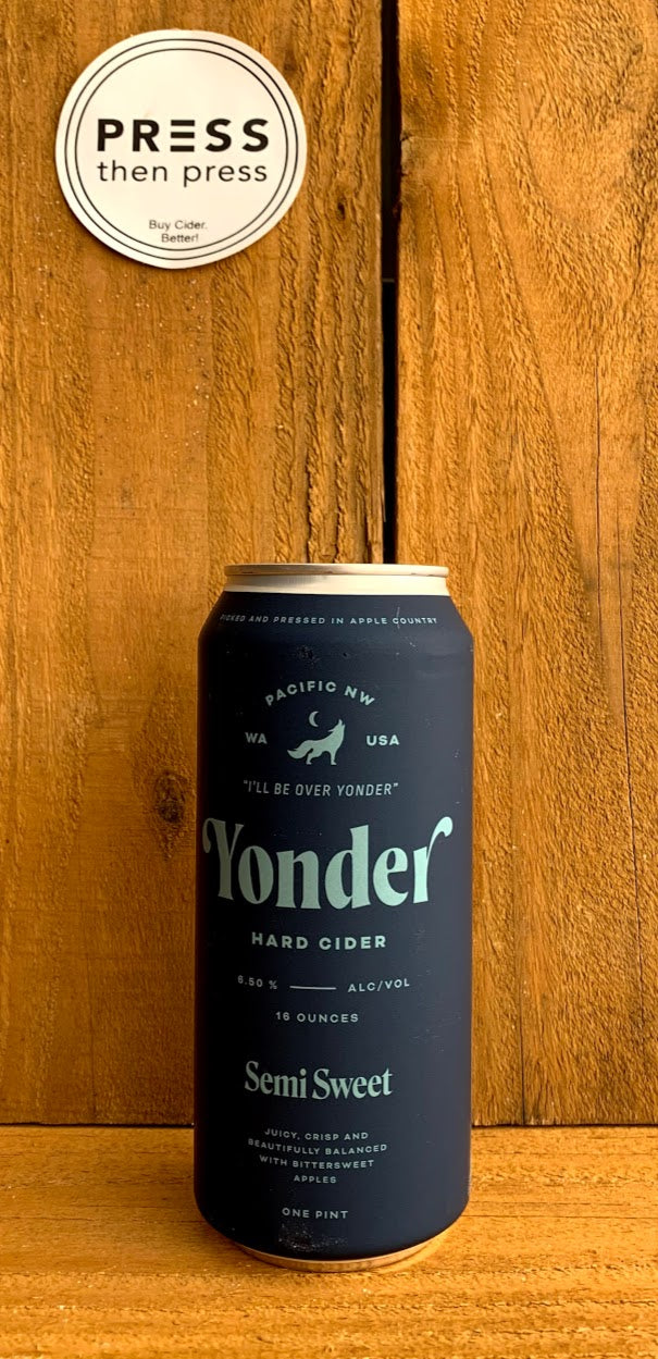 Yonder Semi Sweet 1 CAN 16 oz (6.5% ABV)