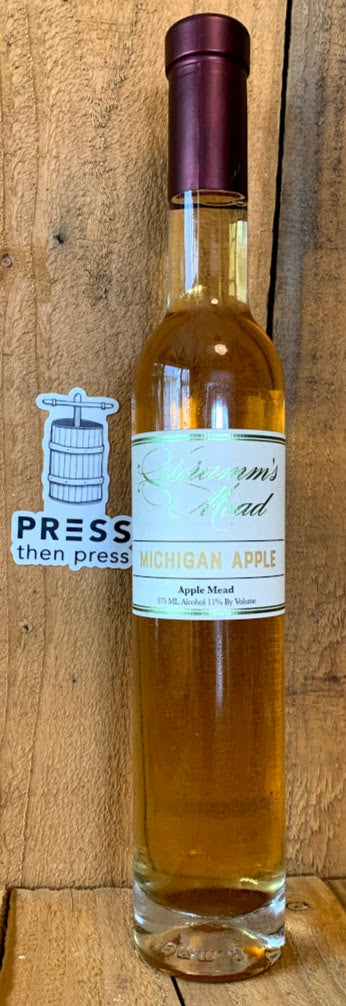 Schramm's Michigan Apple 375 mL (11% ABV) MY OH MY