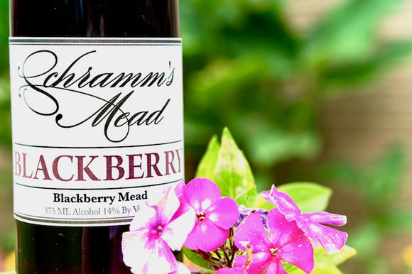 Schramm's Blackberry 375 mL (14% ABV) STRONG CELLAR OPTION