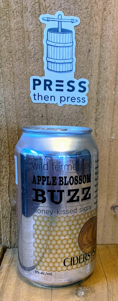 Apple Blossom Buzz 1 CAN (12 oz) 6% ABV BUZZ WILD & SWEET