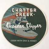 Chatter Creek Chaider Clipper 500 mL (6.9% ABV) CHAI SPICE DELIGHT