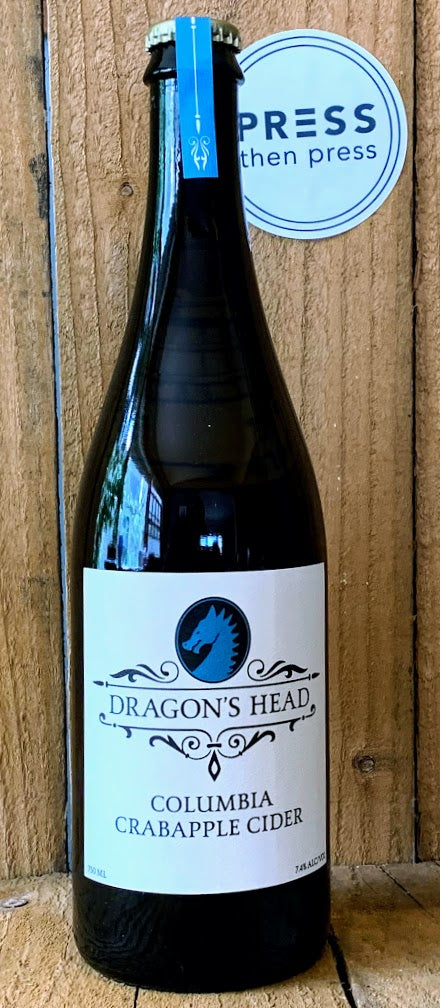 Dragon's Head Columbia Crabapple 750 mL (7.4% ABV) CRACKLE CRAB AHHHH