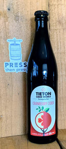 Tieton Cranberry 500 mL (6.9% ABV) LOVE THIS EH-TON
