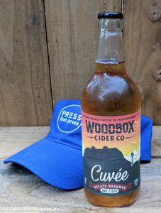 Woodbox Cuvee Cider 500 mL (7.9% ABV) CELEBRATE MELLOW CLASSY