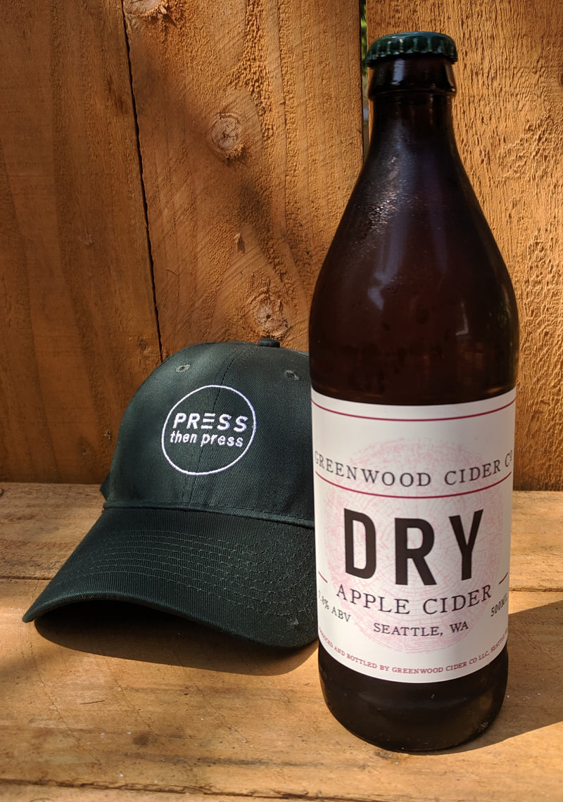 Greenwood Cider Dry 500 mL (7.8% ABV) PERFECT EVERY TIME