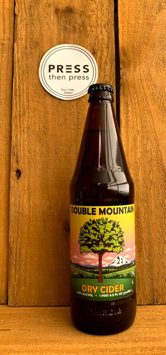 Double Mountain Dry 500 mL (6.7% ABV)