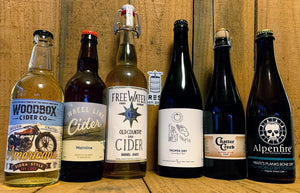 FREE SHIPPING - 6 INCREDIBLE DRY CIDERS - $90