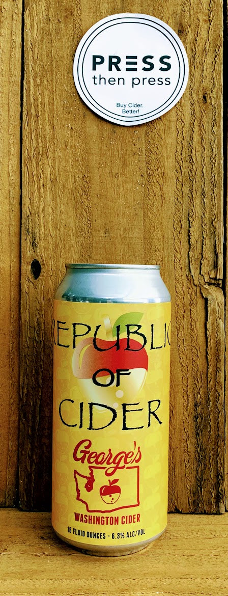 Republic Of Cider George's 16 oz 1 CAN (6.3% ABV)