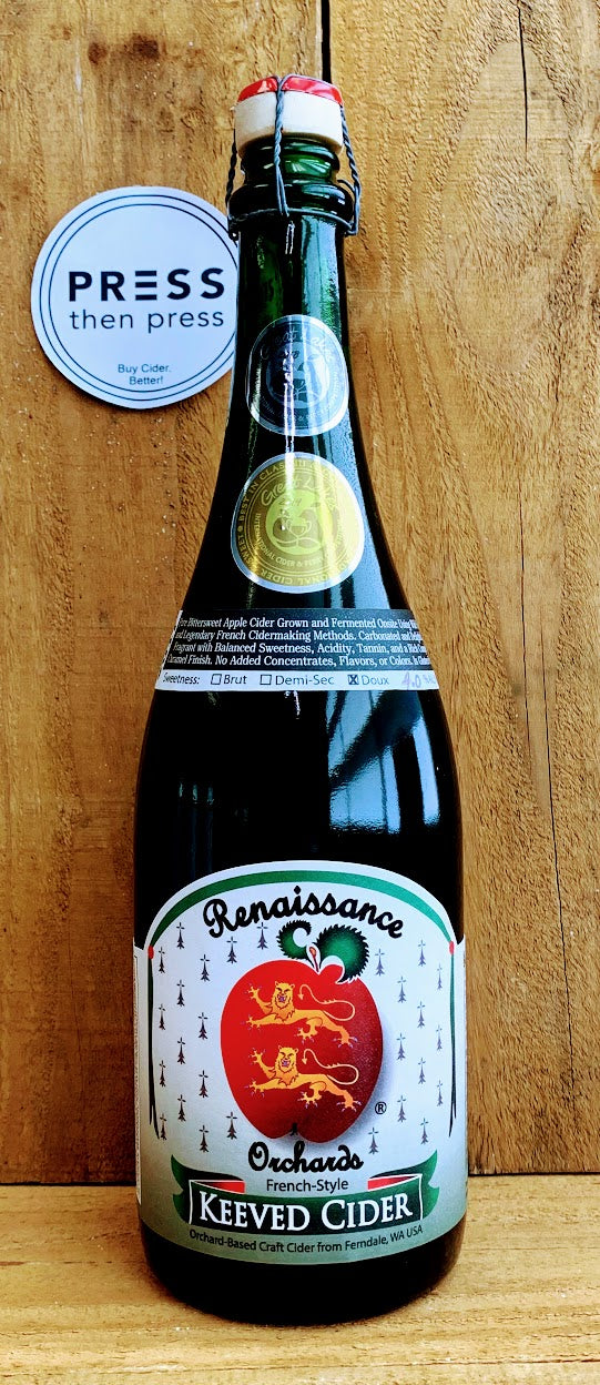Renaissance Cider Keeved Cider 750 mL (4.0% ABV) SHARE THIS GEM