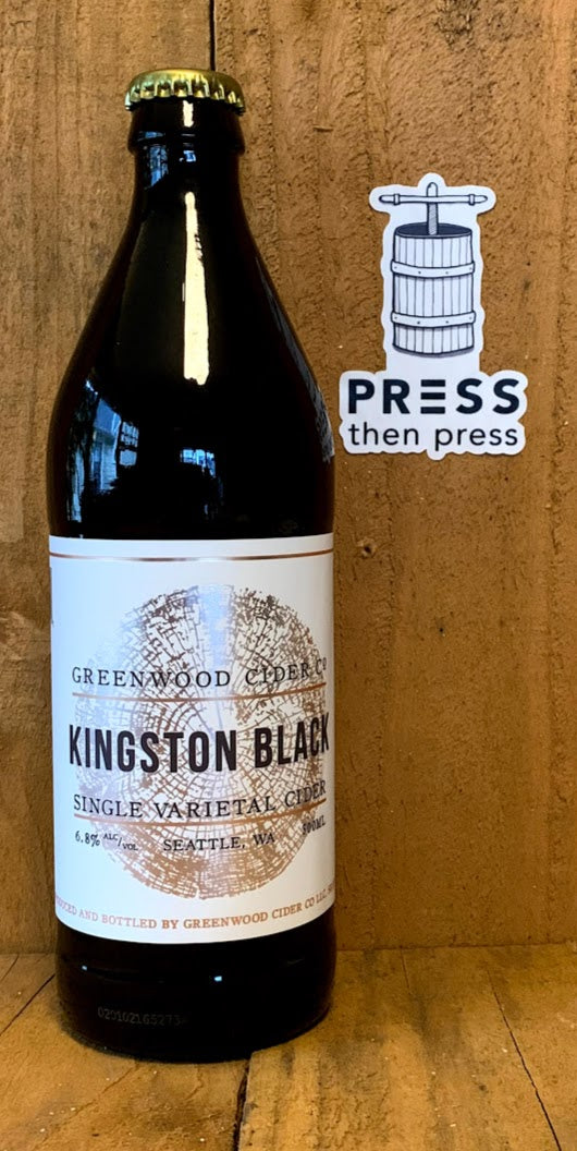 Greenwood Cider Kingston Black SV 500 mL (6.8% ABV)