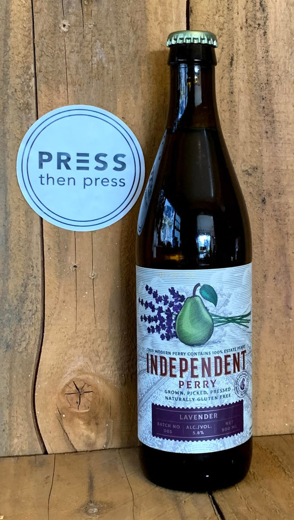 Independent Perry Lavender 500 mL (5.8% ABV) LAVIN IT UP