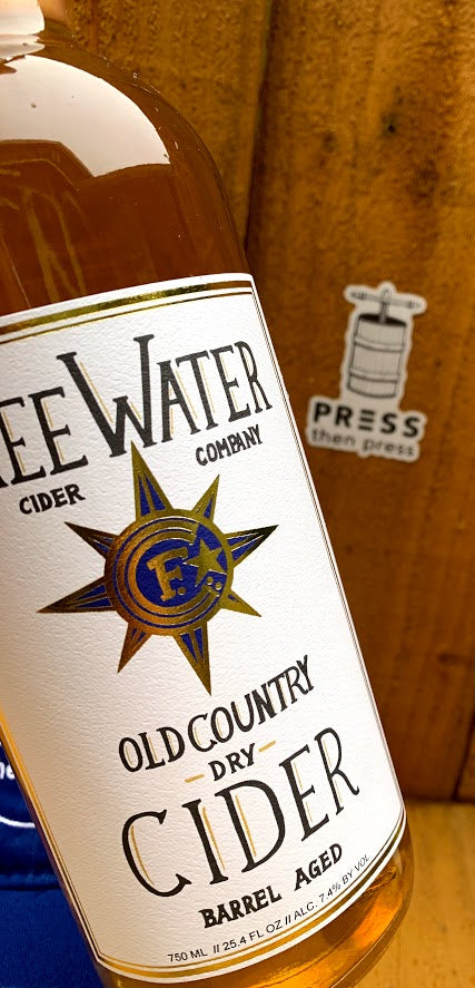 Freewater Old Country Dry - 750 mL (7.4% ABV) CITRUS OAK SMOOTH