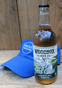 Woodbox Old Goat Cider 500 mL (8.4% ABV) FUNKY SASSY UNIQUE