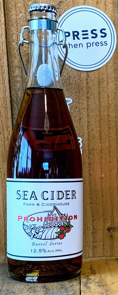 Sea Cider Prohibition 750 mL (12.5% ABV) INTERDIT RUM RUNNER