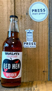 Worley's Cider Red Hen* 500 mL (6.2% ABV)
