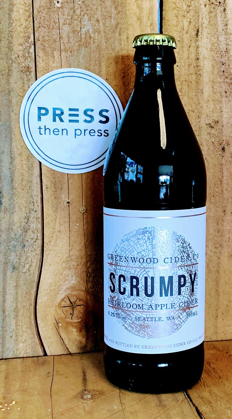 Greenwood Cider Scrumpy 500 mL (6.2% ABV)