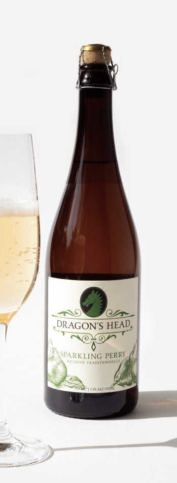 Dragon's Head Sparkling Perry 750 mL (7% ABV) DELICATE FUZZ TRADITION