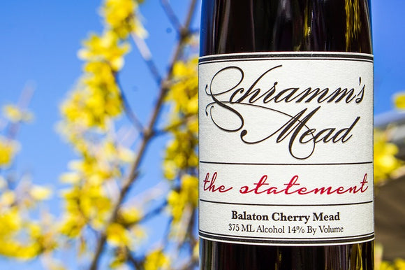 Schramm's The Statement 375 mL (14% ABV) BALATON CHERRY BOMB