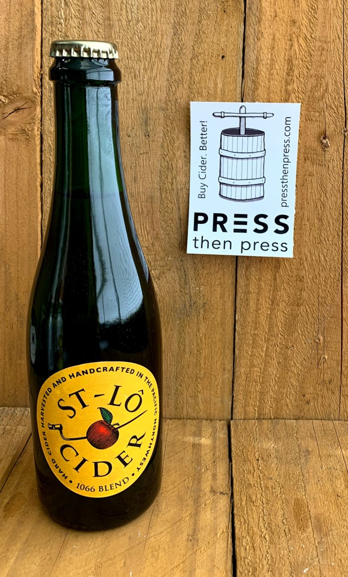 St-Lô Cider 1066 Heritage Blend 375 mL (7.5% ABV) USUALLY SOLD OUT